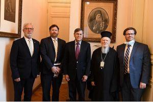 Στο Οικουμενικό Πατριαρχείο ο Αμερικανός Πρέσβης στην Άγκυρα