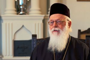 Τηλεφωνική επικοινωνία της ΠτΔ με τον Αρχιεπίσκοπο Αλβανίας Αναστάσιο