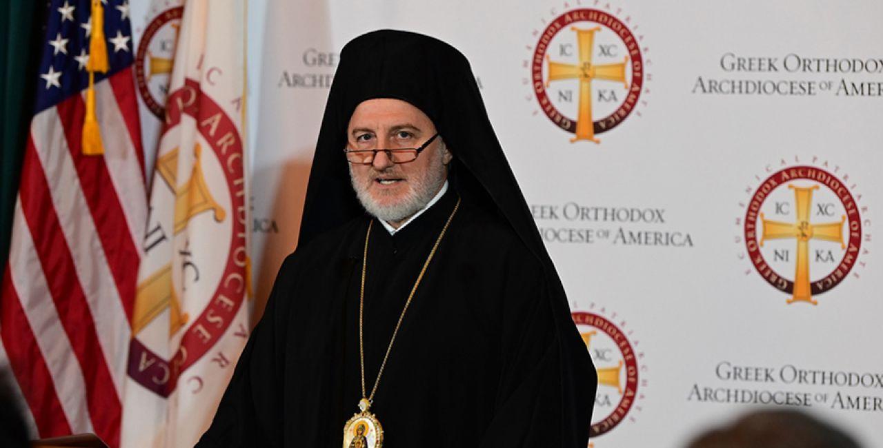 Ο Αρχιεπίσκοπος Αμερικής χαιρέτισε την υπογραφή του μεταρρυθμιστικού πακέτου «Πες τα ονόματά τους»