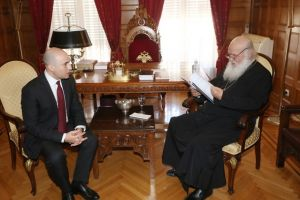 Κωνσταντίνος Μπογδάνος: H ευλογία του Μακαριωτάτου είναι ένα πολύ σημαντικό εφόδιο