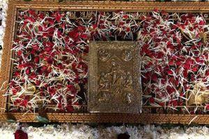 Eπέστρεψε μετά από έξι μήνες o χρυσοποίκιλτος επιτάφιος θρήνος του Αγίου Νικολάου Κοζάνης