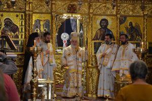Η εορτή της Πεντηκοστής στο Μετόχι του Κύκκου στη Λευκωσία, Προεξάρχοντος του Σεβ. Κύκκου και Τηλλυρίας κ.κ. Νικηφόρου