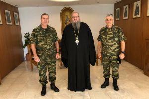 Ο Μητροπολίτης Λαρίσης Ιερώνυμος δέχθηκε τον Αρχηγό ΓΕΣ