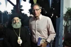 Συνάντηση Μητροπολίτη Μάνης Χρυσοστόμου με τον Πρόεδρο του Ελληνικού Ιδρύματος Πολιτισμού