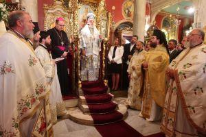 Ο εορτασμός των oνομαστηρίων του Μητροπολίτη Σύρου Δωροθέου Β'