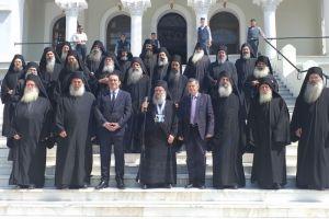 Ο Γέροντας Παύλος Λαυριώτης, ανέλαβε νέος Πρωτεπιστάτης του Αγίου Όρους