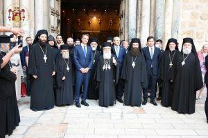 Η επίσκεψη του Πρωθυπουργού στο Πατριαρχείο Ιεροσολύμων