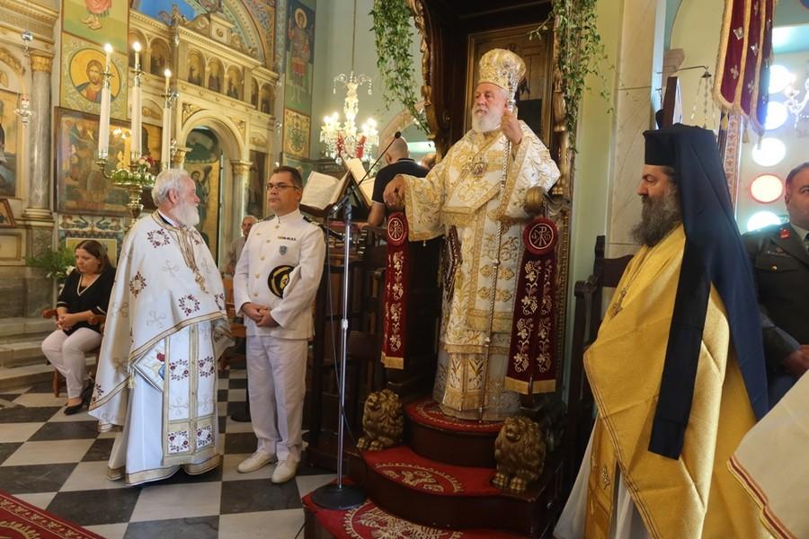Η εορτή των Αγίων Πάντων στην ιερά νήσο Μήλο από τον Σεβ. Σύρου Δωρόθεο