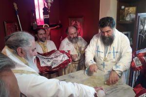 Τα πρώτα εγκαίνια Ιερού Ναού από τον Σεβ. Καλαβρύτων και Αιγιαλείας κ.Ιερώνυμο
