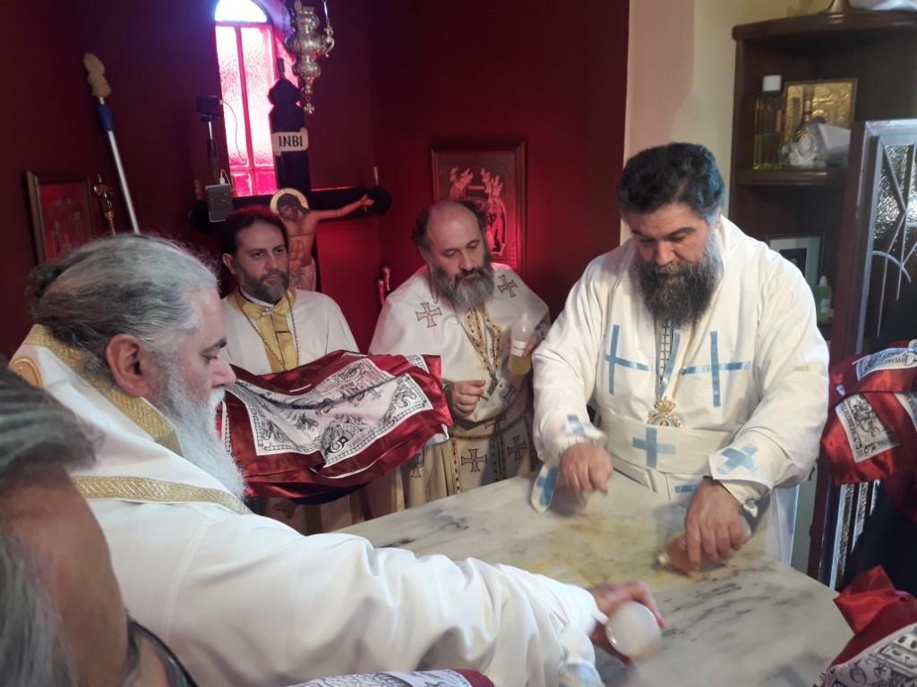 You are currently viewing Τα πρώτα εγκαίνια Ιερού Ναού από τον Σεβ. Καλαβρύτων και Αιγιαλείας κ.Ιερώνυμο