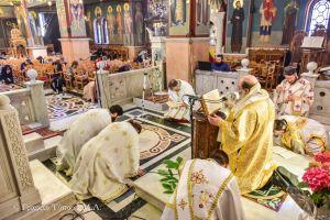 Η εορτή της Πεντηκοστής στην Ι. Μητρόπολη Λαγκαδά