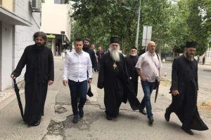 Παραμένει υπό κράτηση  στο Αστυνομικό Μέγαρο ο Μητροπολίτης Μαυροβουνίου- 🔺Γιατί σιωπά και δεν αντιδρά  ο ορθόδοξος κόσμος;