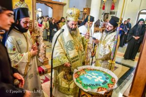 Η Ιερά μνήμη  των εν τω Αγίῳ Όρει διαλαμψάντων Οσίων και Θεοφόρων Πατέρων, στην Ι. Μητρόπολη Λαγκαδά.