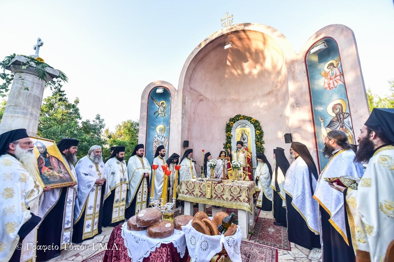 Με μεθέορτο εσπερινό επισφράγισε η Μητρόπολη Λαγκαδά τον εορτασμό των Πρωτοκορυφαίων Αποστόλων Πέτρου και Παύλου