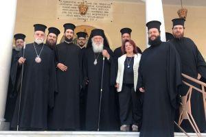 Χειροτονία νέου Διακόνου με το όνομα Ιερώνυμος στην Ι.Μ. Νέας Ιωνίας του Αρχιεπισκόπου Αθηνών συμπροσευχομένου