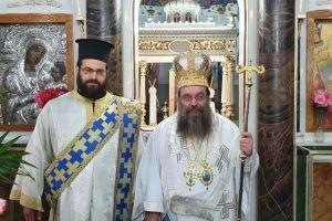 Ημέρες του Πεντηκοσταρίου στην ακριτική Ιερά Μητρόπολη Χίου