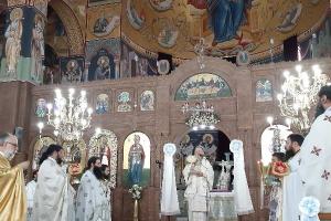 Η εορτή της μεγαλόχαρης και θαυματουργού Αγίας  Μαρίνας  στην πόλη της  Χαλκίδας