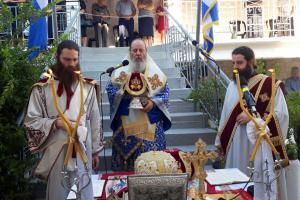 Ἡ ἑορτή τῆς Ἁγίας Μεγαλομάρτυρος Μαρίνης στήν Πάτρα.