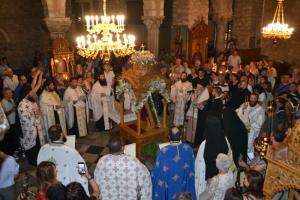 Προεόρτιος Ιερά Αγρυπνία για την πολιούχο της Χαλκίδας Αγία Παρασκευή