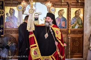 Πανηγυρικός ο εορτασμός της Αγίας Κυριακής Κολχικού Λαγκαδά μετά λιτανείας