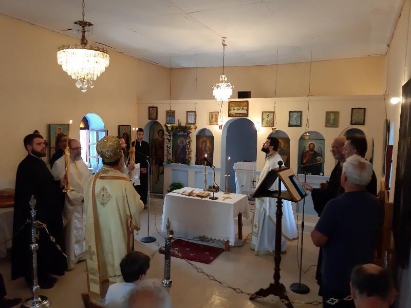 Ο εορτασμός του Αγίου Αθανασίου του Αθωνίτου στην Ι. Μητρόπολη Χαλκίδος