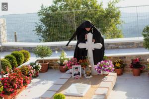 Ρασοφορία νέας Μοναχής στην Ιερά Μονή Παμμεγίστων Ταξιαρχών Πηλίου