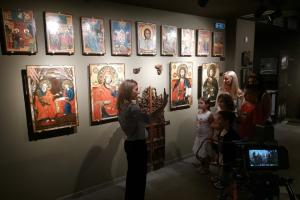 Συνεχίζονται οι επισκέψεις στο Μουσείο Βυζαντινής Τέχνης και Πολιτισμού Μακρινίτσας