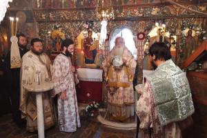 Αναβίωσε το Μοναστήρι της Παναγίας στο Μεγαλόβρυσο Αγιάς