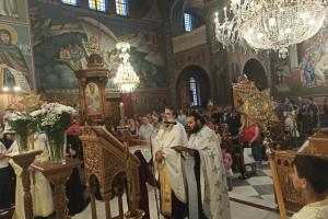 Δημητριάδος Ιγνάτιος: «Η ιστορία γράφεται μία φορά και δεν διαγράφεται» – Πάνδημος ιερός Θρήνος για την Αγιά Σοφιά στον Βόλο