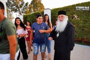 Ο Αργολίδος Νεκτάριος δεξιώθηκε τουςαπόφοιτους μαθητές των Λυκείων