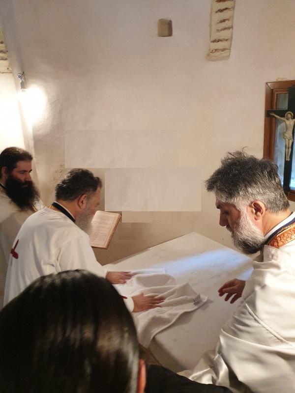 Λαμπρά εγκαίνια του Ι. Ναού Παναγίας Χιλιαδούς Διρφύων Χαλκίδος