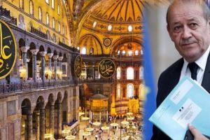 Παρέμβαση Γάλλου ΥΠΕΞ για Αγιά Σοφιά – Τον κώδωνα του κινδύνου έκρουσε ο Έλληνας Επίτροπος