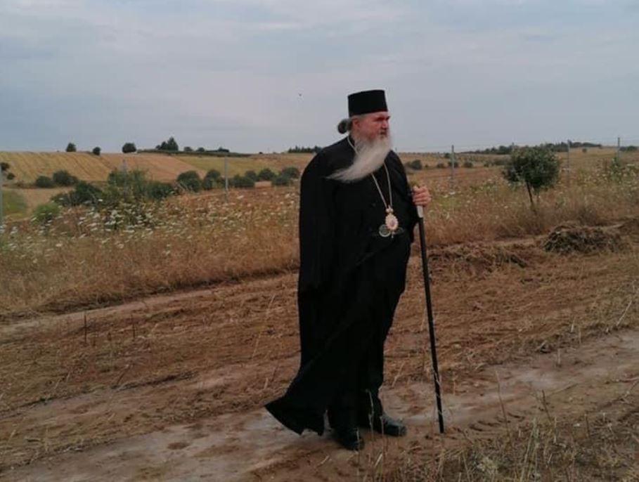 Ο Σεβ. Νέας Κρήνης έθεσε σήμερα τον θεμέλιο λίθο για το πρώτο μοναστήρι στην Επανομή -Θεσσαλονίκης