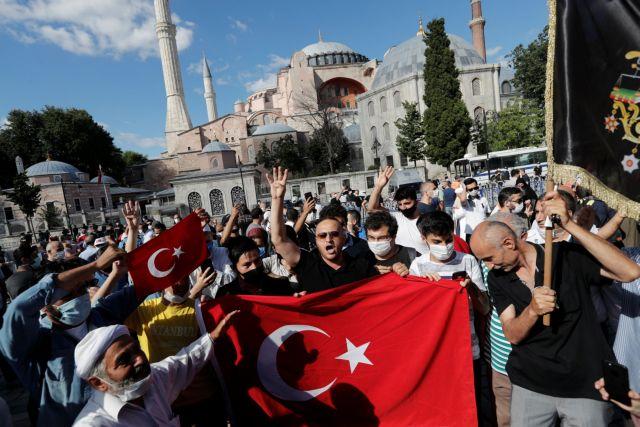 Πανηγυρισμοί από μουσουλμάνους για την απόφαση του ΣτΕ και την υπογραφή Ερντογάν
