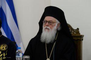 Ο Αρχιεπίσκοπος Αναστάσιος επέστρεψε στα καθήκοντά του