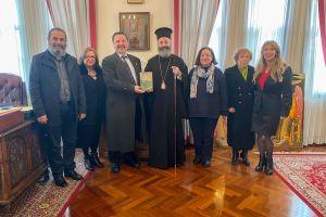 Συνάντηση του Αρχιεπισκόπου Αυστραλίας κ. Μακαρίου με το Δ.Σ. του Συλλόγου Ελληνοαυστραλών Εκπαιδευτικών ΝΝΟ