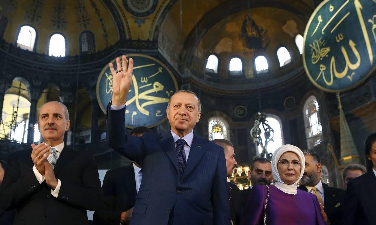 You are currently viewing Νέο βίντεο του Ερντογάν για την Αγία Σοφία: «Ήσουν πάντα δική μας»