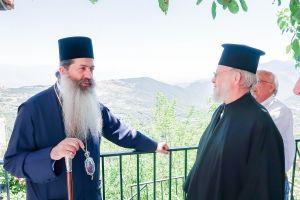 Ο Φιώτιδος Συμεών από το μπαλκόνι της Ρούμελης (Κουμαρίτσι) για την Αγία Σοφία και την απόφαση του Τούρκου Προέδρου