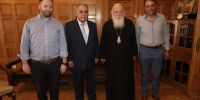 Το Επαγγελματικό Επιμελητήριο στηρίζει το έργο της Αρχιεπισκοπής