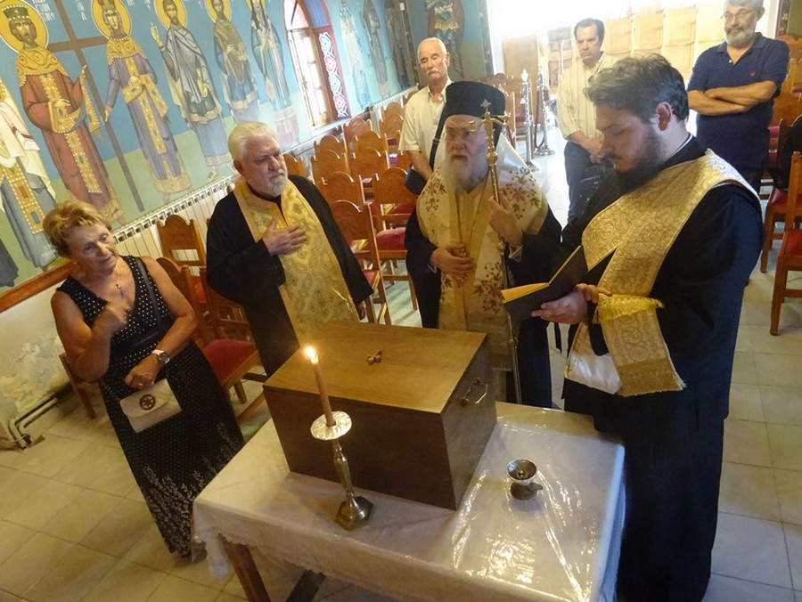 Τρισάγιο στην μακαριστή Επισκοπομήτορα Μαριάνθης Τσακουμάκα
