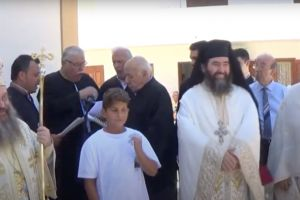 Θρήνο για την Αγία Σοφιά απέδωσαν οι Ιεροψάλτες στο προσκύνημα της Αγίας Μαρκέλλας στη Χίο