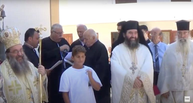 You are currently viewing Θρήνο για την Αγία Σοφιά απέδωσαν οι Ιεροψάλτες στο προσκύνημα της Αγίας Μαρκέλλας στη Χίο
