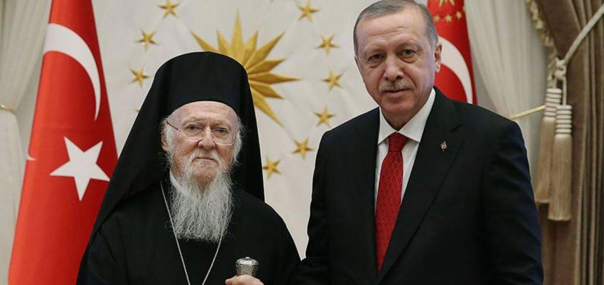 Ο Πατριάρχης Βαρθολομαίος ευχαρίστησε τον Ερντογάν για την Παναγία Σουμελά!