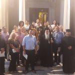 Λήξη μαθημάτων σχολής αγιογραφίας Ι.Μ Σάμου