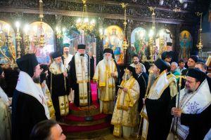 Στην κωμόπολη της Βαλύρας Μεσσηνίας ο Αρχιεπίσκοπος Ιερώνυμος και άλλοι Αρχιερείς για το μνημόσυνο του αδελφού του Σεβ .Σπάρτης Ευσταθίου