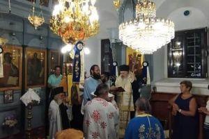 Η μνήμη της Αγίας Παρασκευής στην Ι. Μητρόπολη Μηθύμνης