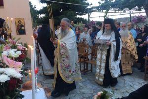 Κερκύρας Νεκτάριος : «Να διδαχθούμε το ήθος της αντίστασης από τους Αγίους μας»