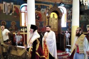 Η Ακολουθία των Χαιρετισμών προς την Υπεραγία Θεοτόκο στους Καθεδρικούς Ναούς Καλαβρύτων και Αιγίου