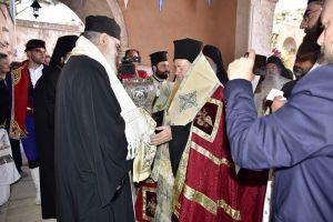 Αγία Τριάδα των Τζαγκαρόλων: Υποδοχή της Τιμίας Κάρας του Αγίου Νικολάου Πλανά