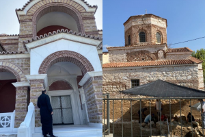 Ενα μικρό οδοιπορικό σε δύο εμβληματικά μνημεία   στην ευλογημένη επαρχία της Δράμας